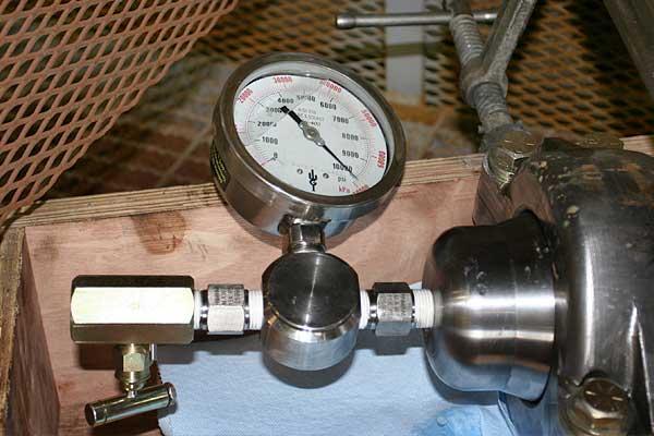 pressure test 10000