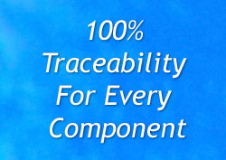 Pipeline coupler 100% traceability